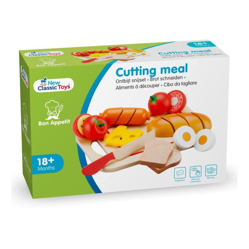 Bon Appetit Ontbijt Snijset 19 Delig New Classic Toys Doosnewc-10578