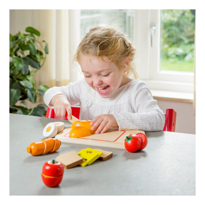 Bon Appetit Ontbijt Snijset 19 Delig New Classic Toys Oefenennewc-10578
