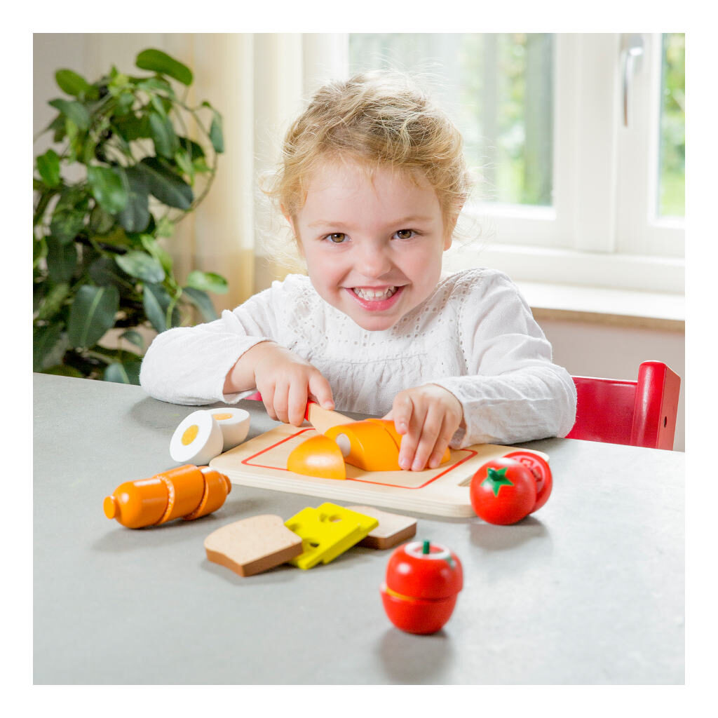 Bon Appetit Ontbijt Snijset 19 Delig New Classic Toys Verwennennewc-10578