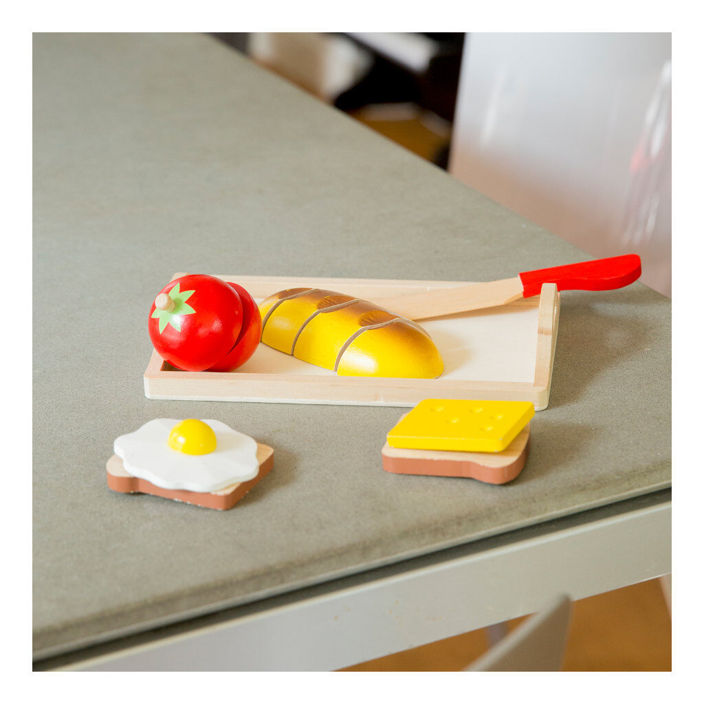 Bon Appetit Ontbijtset New Classic Toys Houten Houtnewc-10582