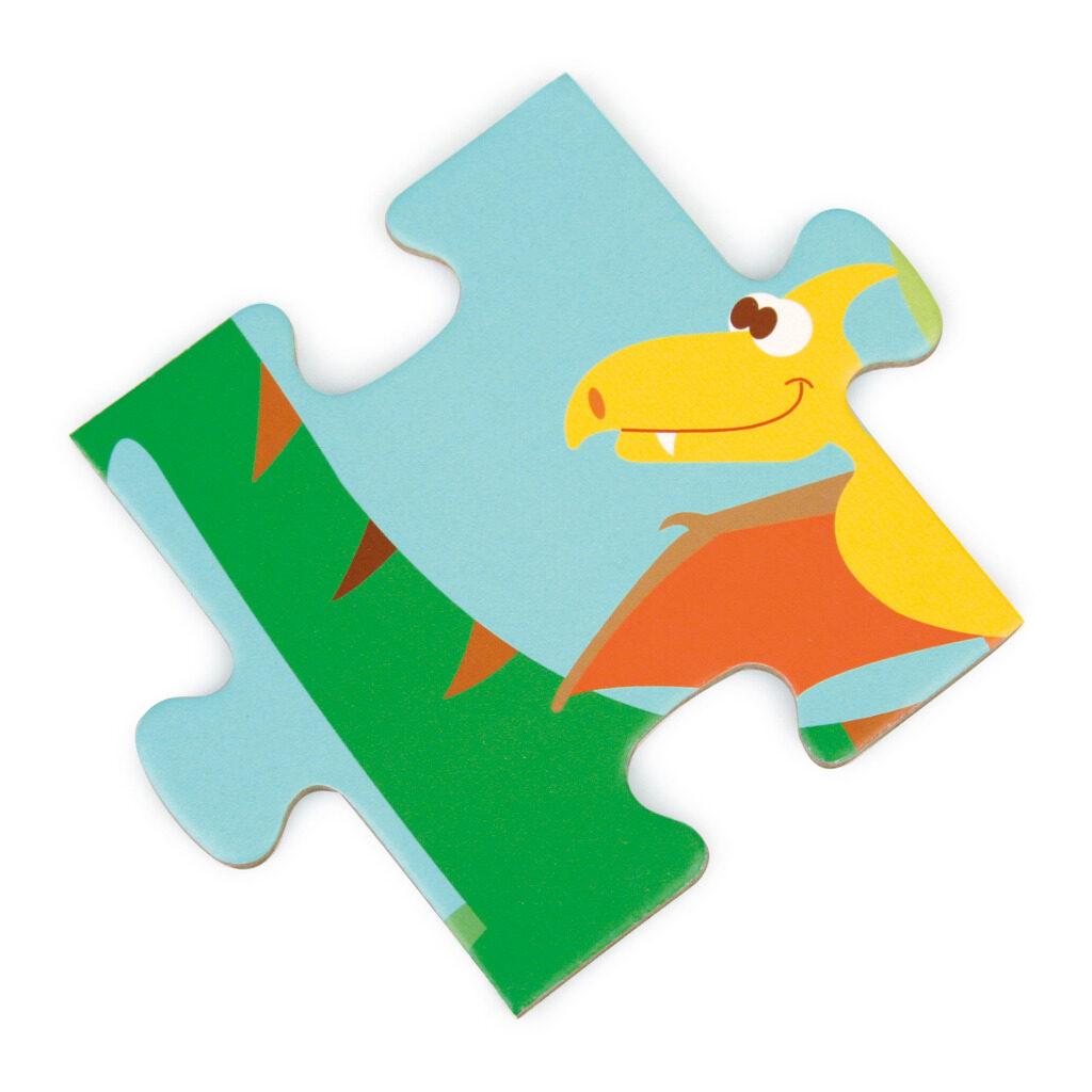 Dino Wereld Puzzel 40 Stukjes Puzzelstuk Scratch Scra-6181091