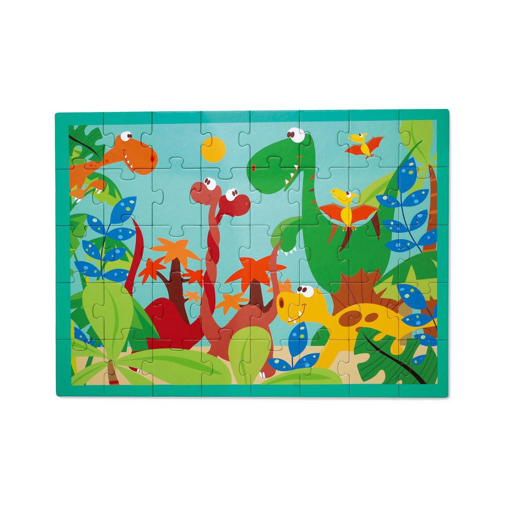 Dino Wereld Puzzel Scratch Scra-6181091