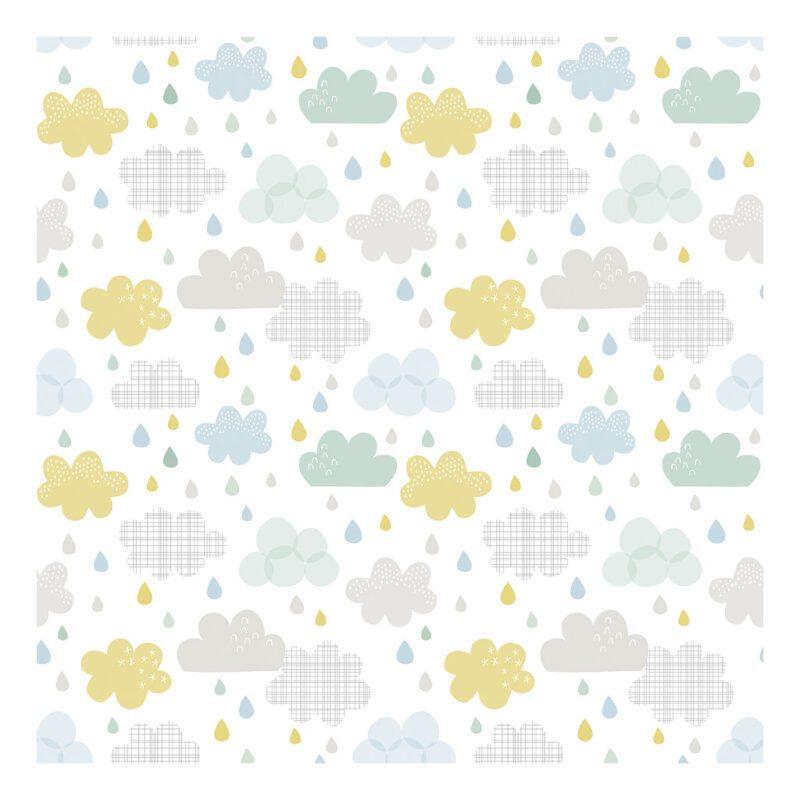 Drops And Clouds Behang Lilipinso Lili-H0418