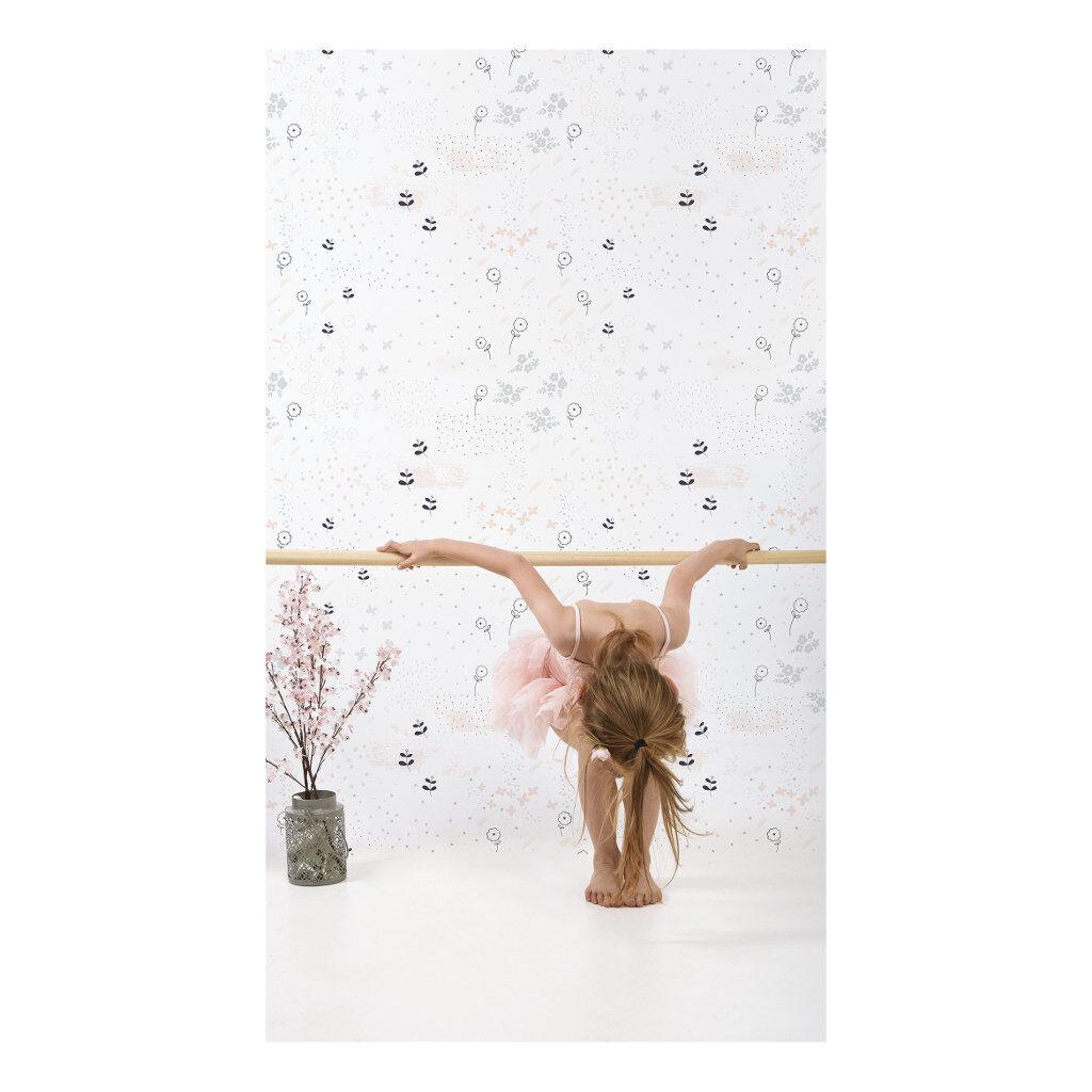 Flowers Behang Ballerina Lilipinso lili-h0328
