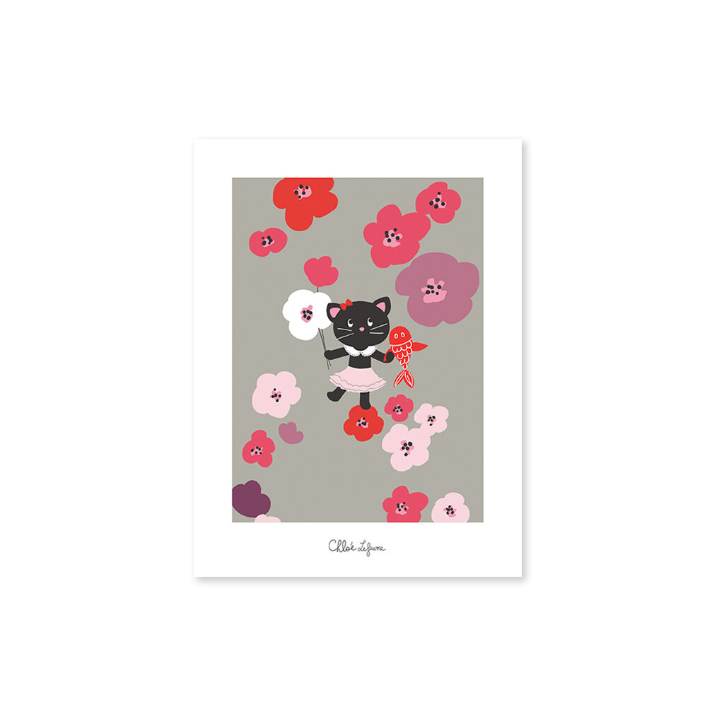 Flowers Forever Poster Lilipinso Zonder Lijst Lili-P0124