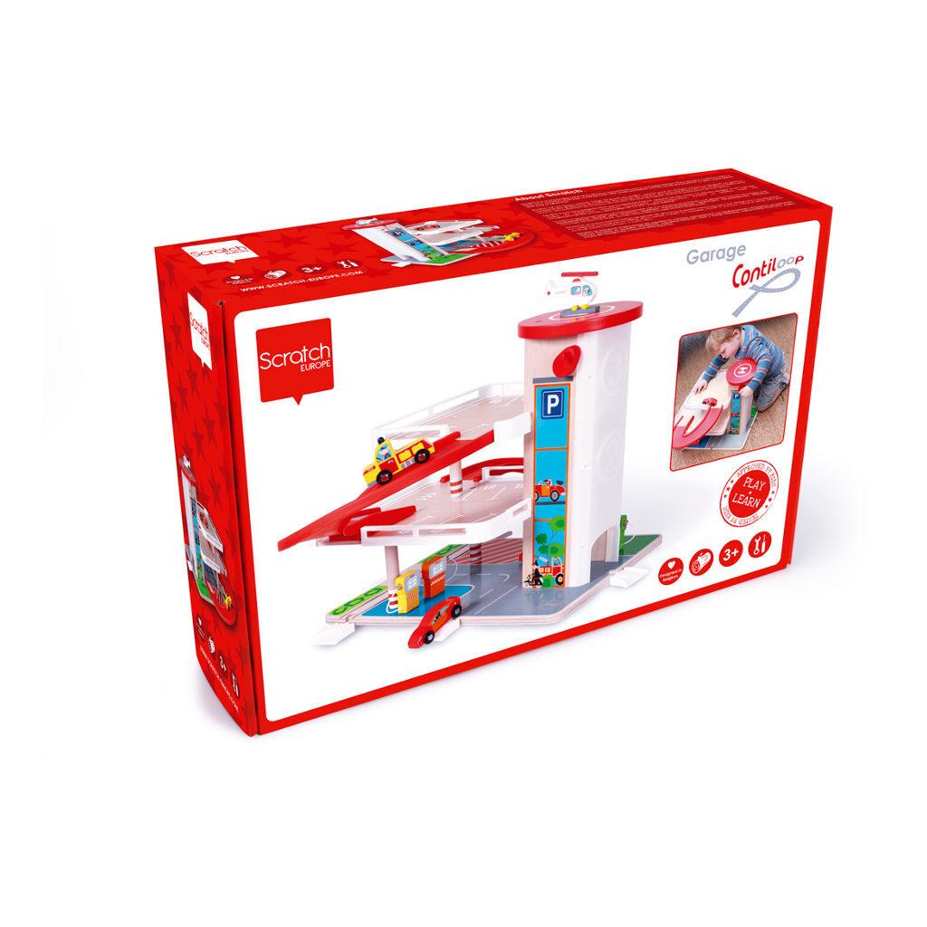 Garage Met Lift Doos Verpakking Scratch Scra-6181085