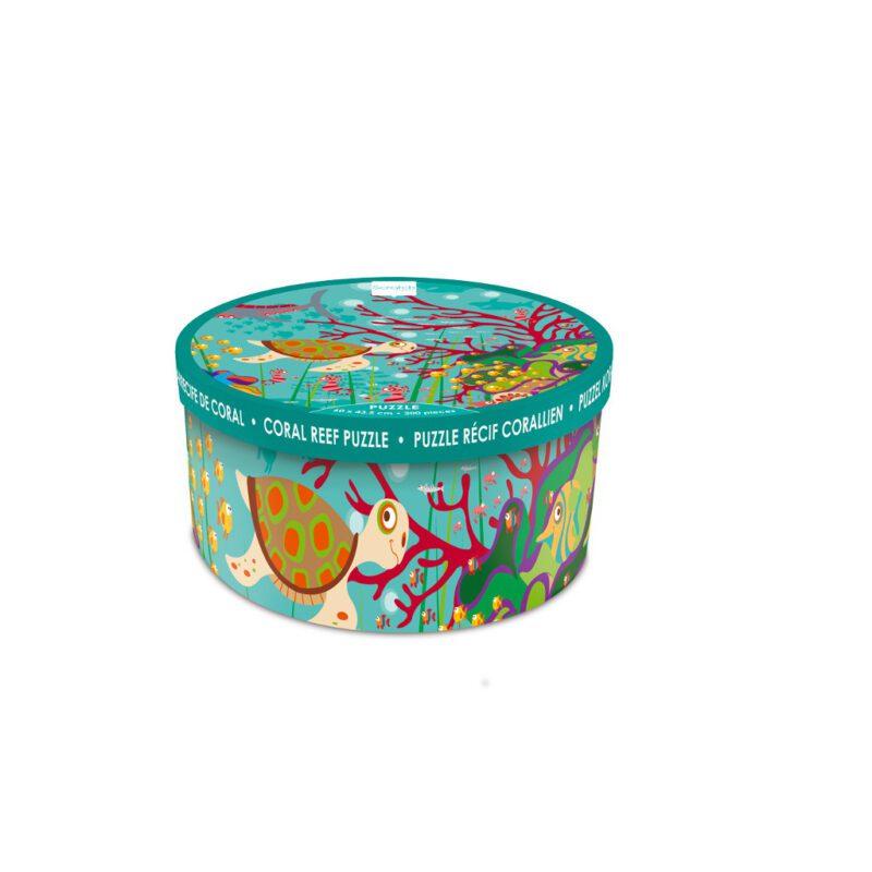 Gekke Jungle Puzzel 200 Stukjes Doos Verpakking Trommel Scratch Scra-6181095