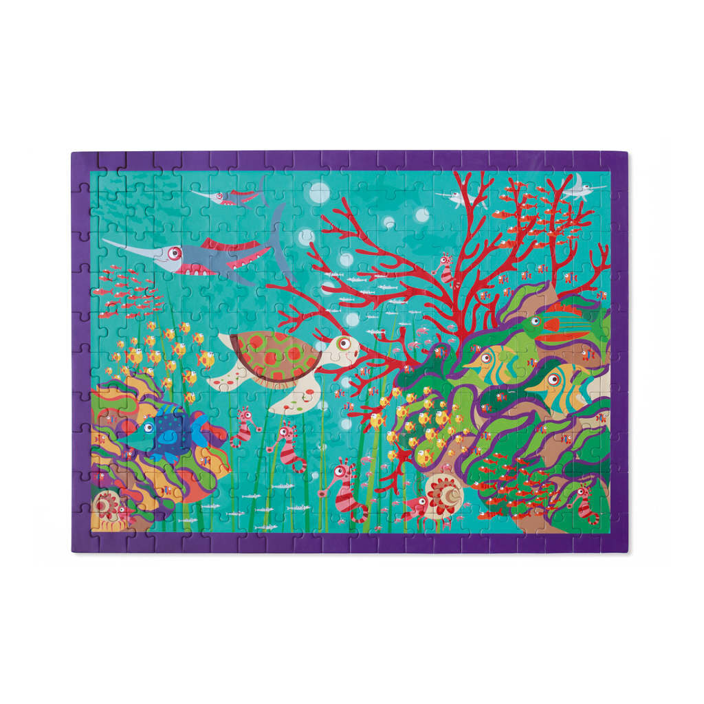 Gekke Jungle Puzzel 200 Stukjes Scratch Scra-6181095