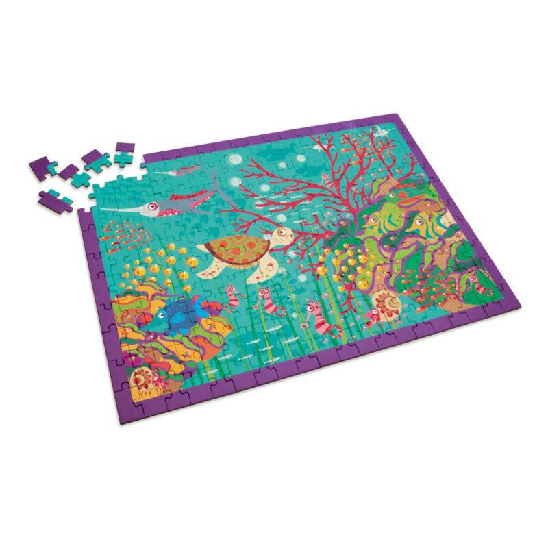 Gekke Jungle Puzzel 200 Stukjes legpuzzel Scratch Scra-6181095