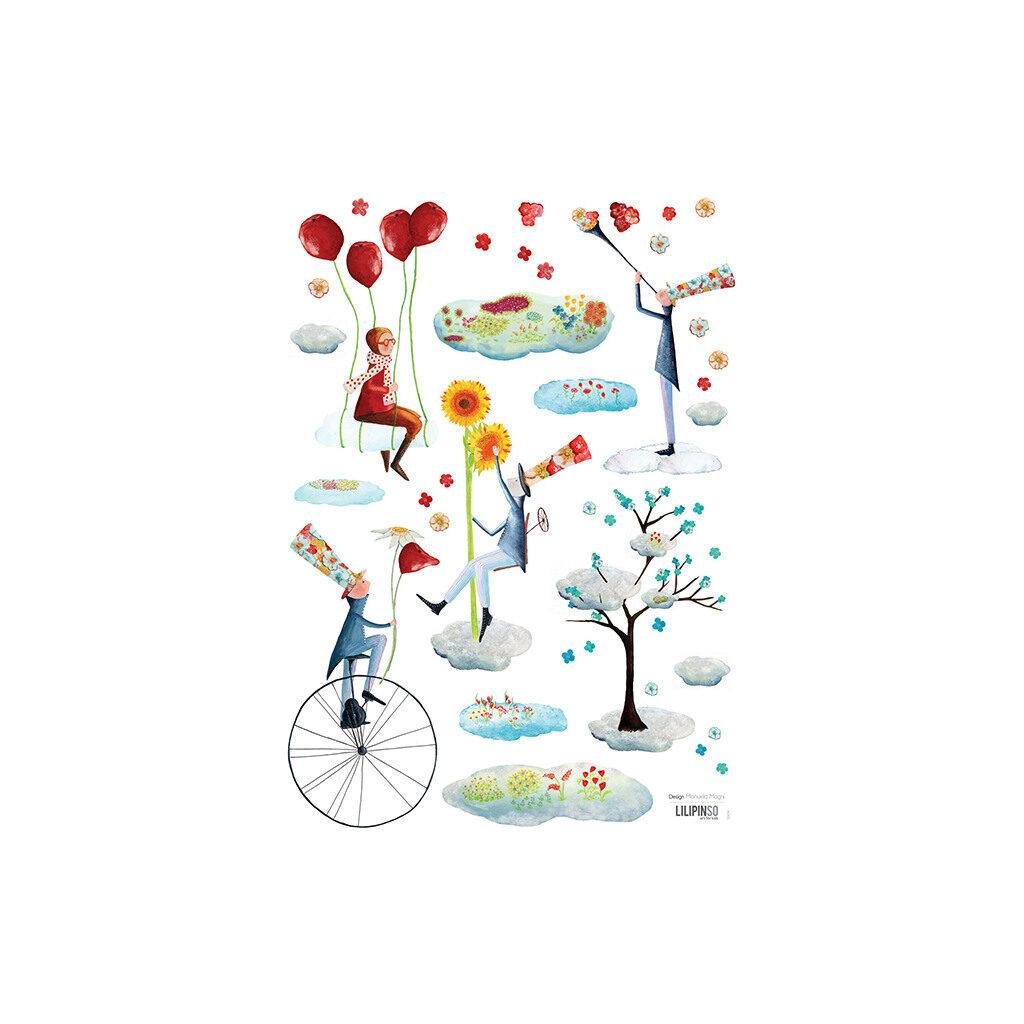 Heaven'S Gardener Muursticker A3 Lilipinso Lili-S0694