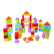 Houten Bouwblokken 101 Blokjes HapeVerschillende Kleuren hape-e8247