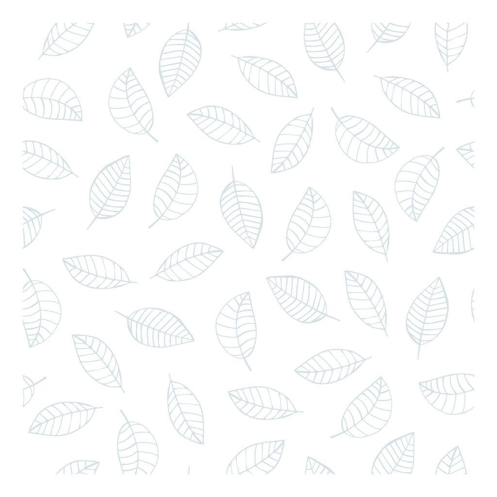 Leaves Light Blue Behang Nordic Lilipinso Neutrale Blaadjes Lili-H0340