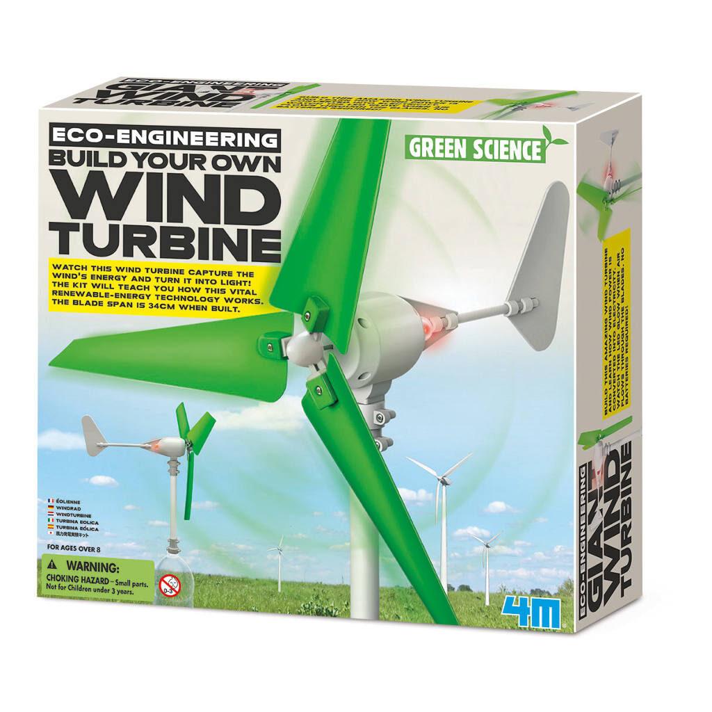 Maak Je Eigen Windturbine Doos Verpakking 4M 4Msp-5603378