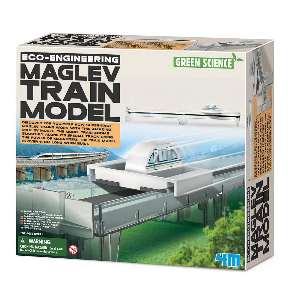 Magneettrein Maglev Maken Doos Verpakking 4M 4Msp-5603379