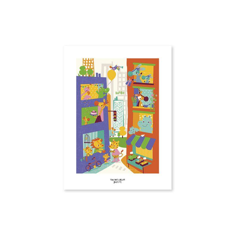 Neighbours Poster Lilipinso Zonder Lijst Lili-P0157