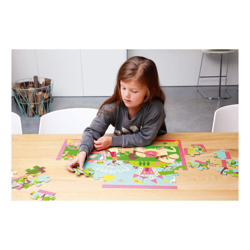 Prinsessenkoets Puzzel 60 Stukjes Kleuter Vrolijk Scratch Scra-6181090.jpg