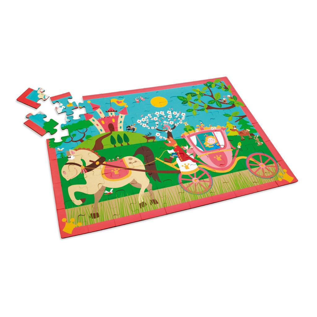 Prinsessenkoets Puzzel 60 Stukjes Legpuzzel Scratch Scra-6181090.jpg