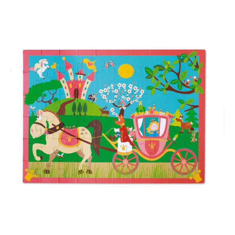 Prinsessenkoets Puzzel 60 Stukjes Scratch Scra-6181090