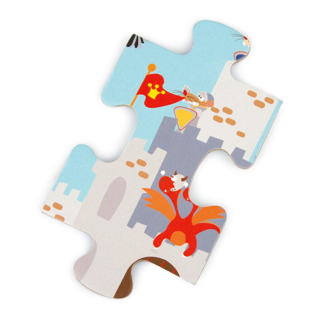 Riddergevecht Puzzel Puzzelstuk Scratch Scra-6181089
