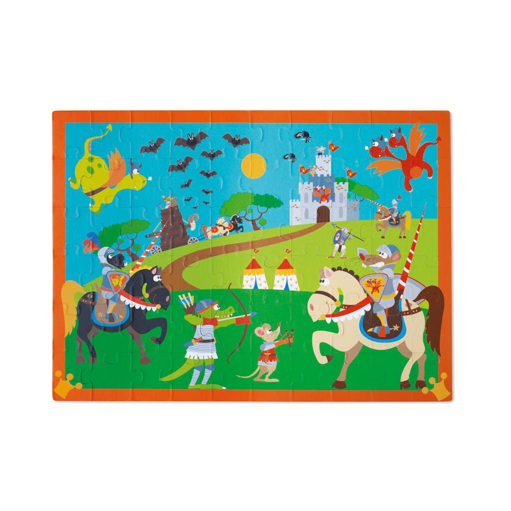 Riddergevecht Puzzel Verhalen Puzzel Scratch Scra-6181089