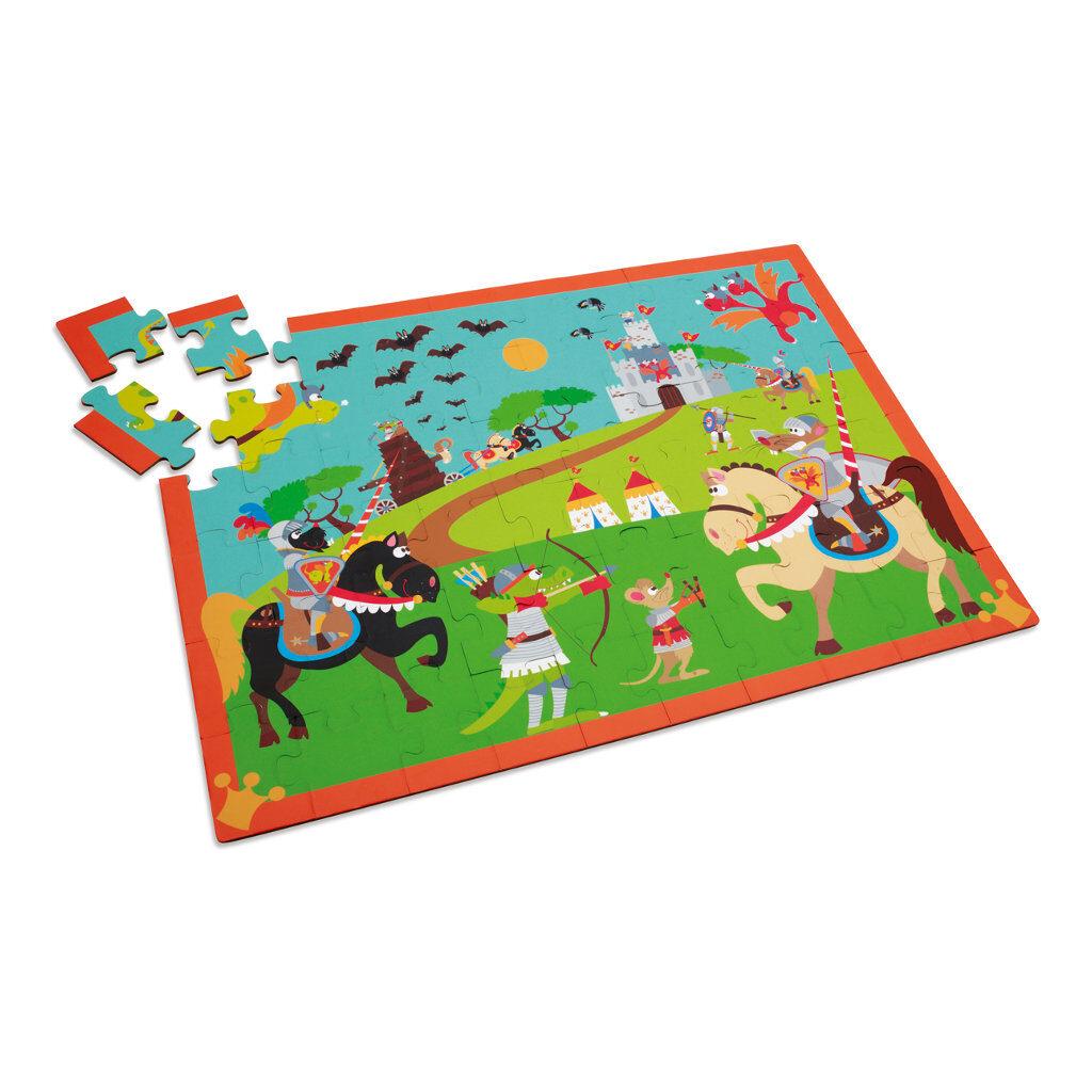 Riddergevecht Puzzel Vierkant Scratch Scra-6181089