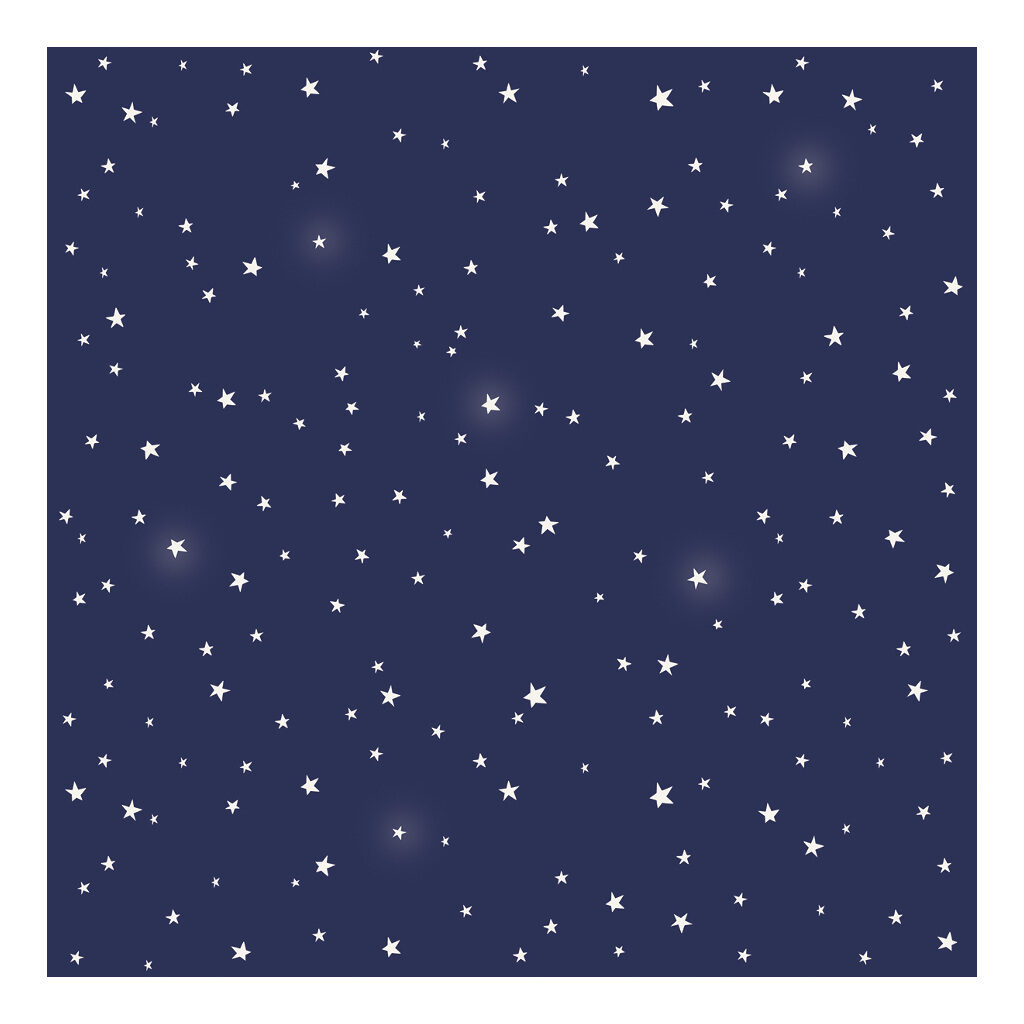 Stars At Night Behang Fly Me To The Moon Lilipinso Blauw Witte Sterren Lili-H0367