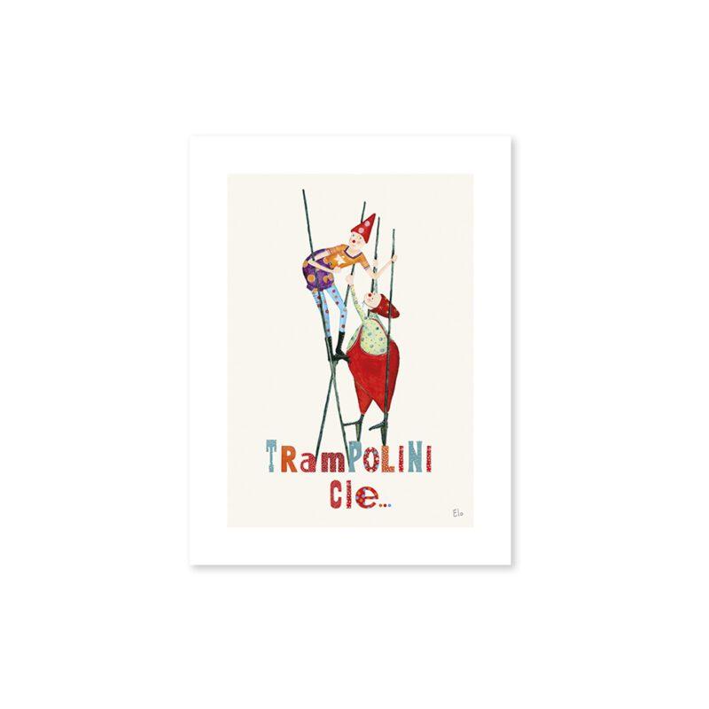 Stilts Poster Lilipinso Zonder Lijst Lili-P0156