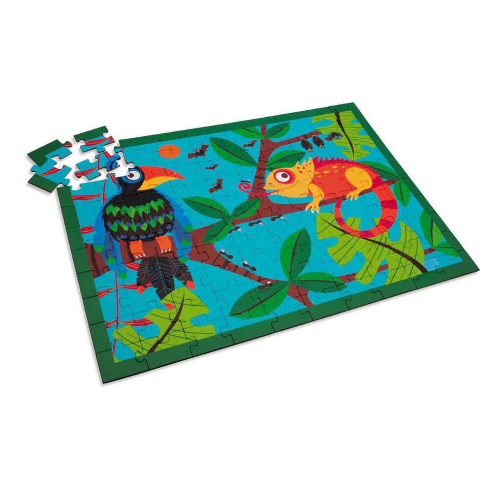 Toekan Jungle Puzzel 100 Stukjes Legpuzzel Scratch Scra-6181092