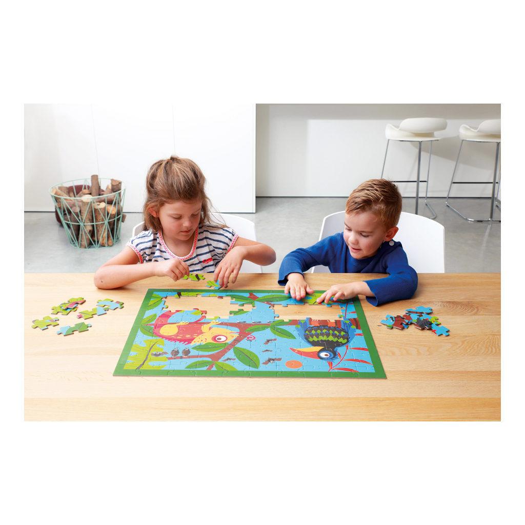 Toekan Jungle Puzzel 100 Stukjes Samen puzzelen Scratch Scra-6181092