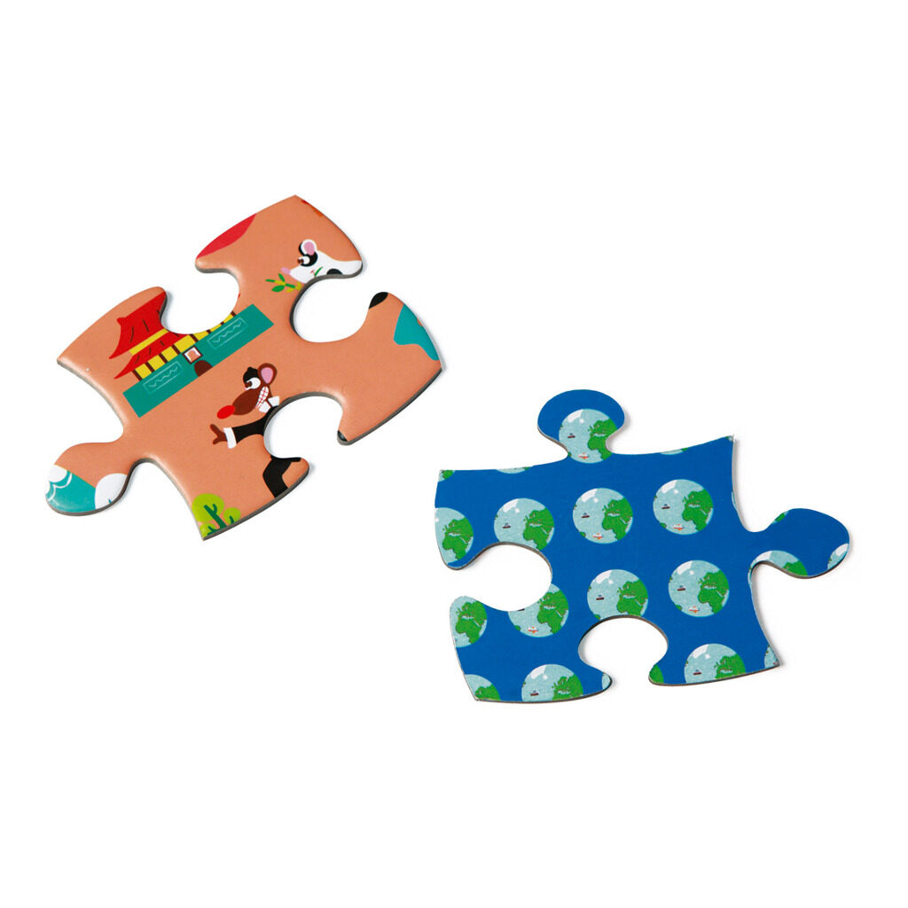 Wereldkaart Puzzel 150 Stuks Scratch Puzzel Stukjes Scra-6181076