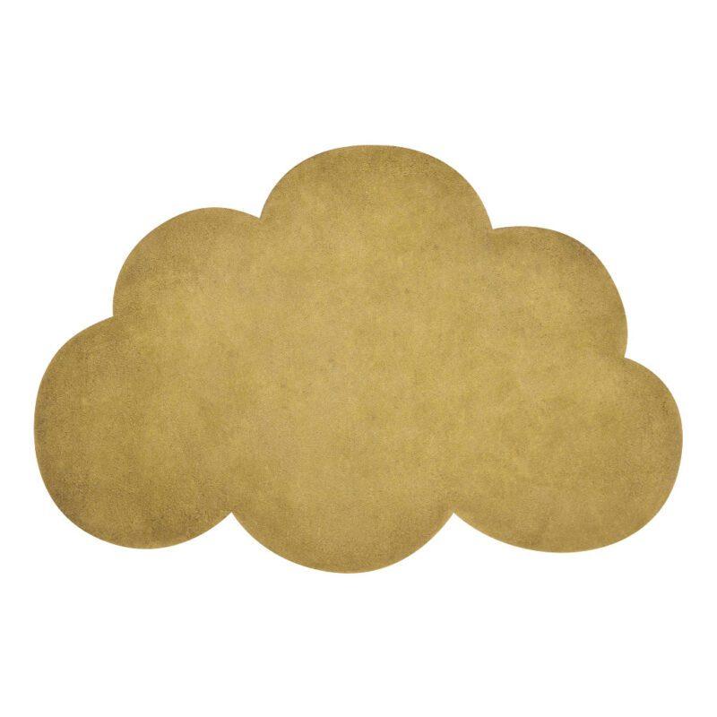 Wolk Mustard Vloerkleed Lilipinso Mosterd Orker Geel Babykamer Kinderkamer Lili-H0517