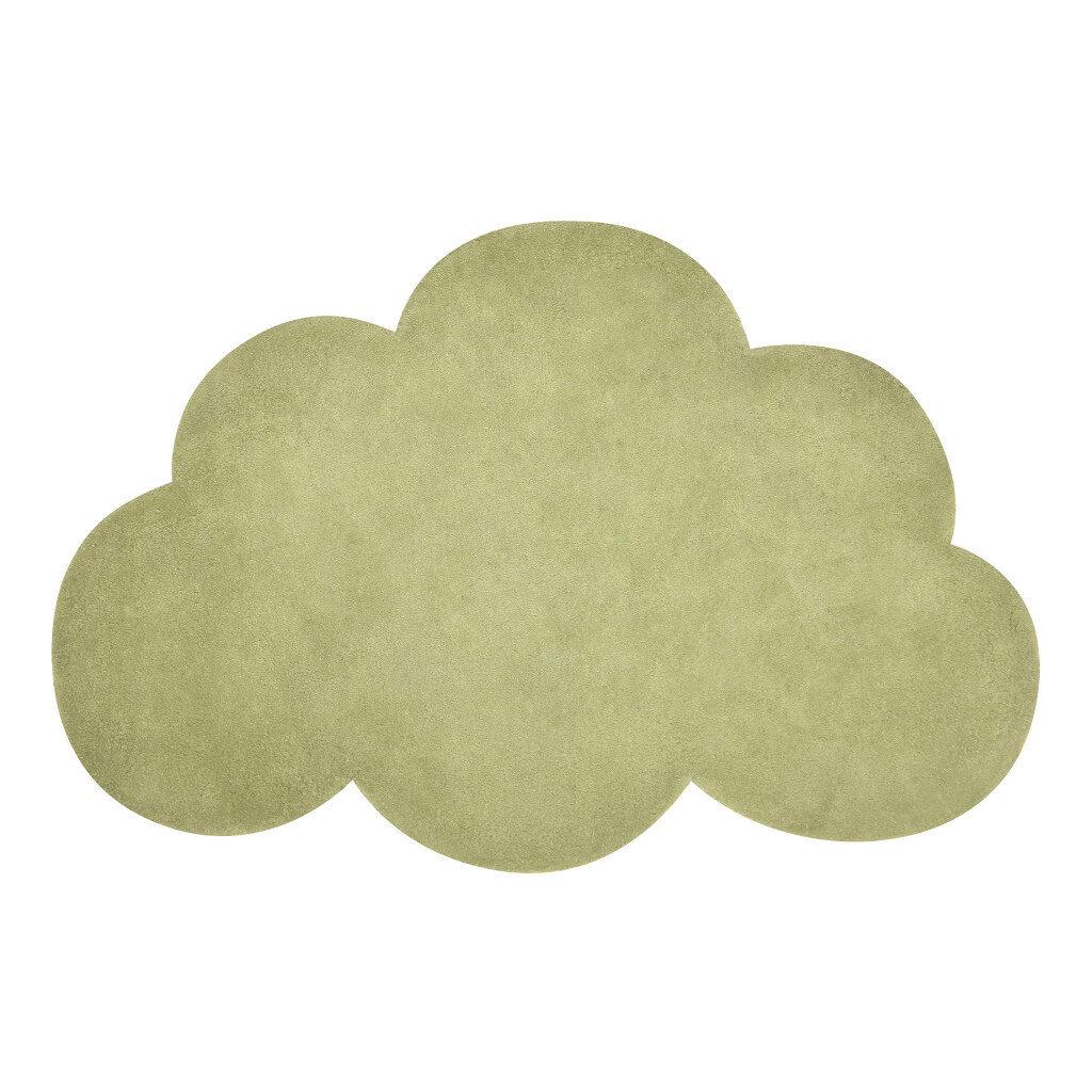 Wolk Palm Green Vloerkleed Lilipinso Groen Babykamer Kinderkamer Lili-H0515
