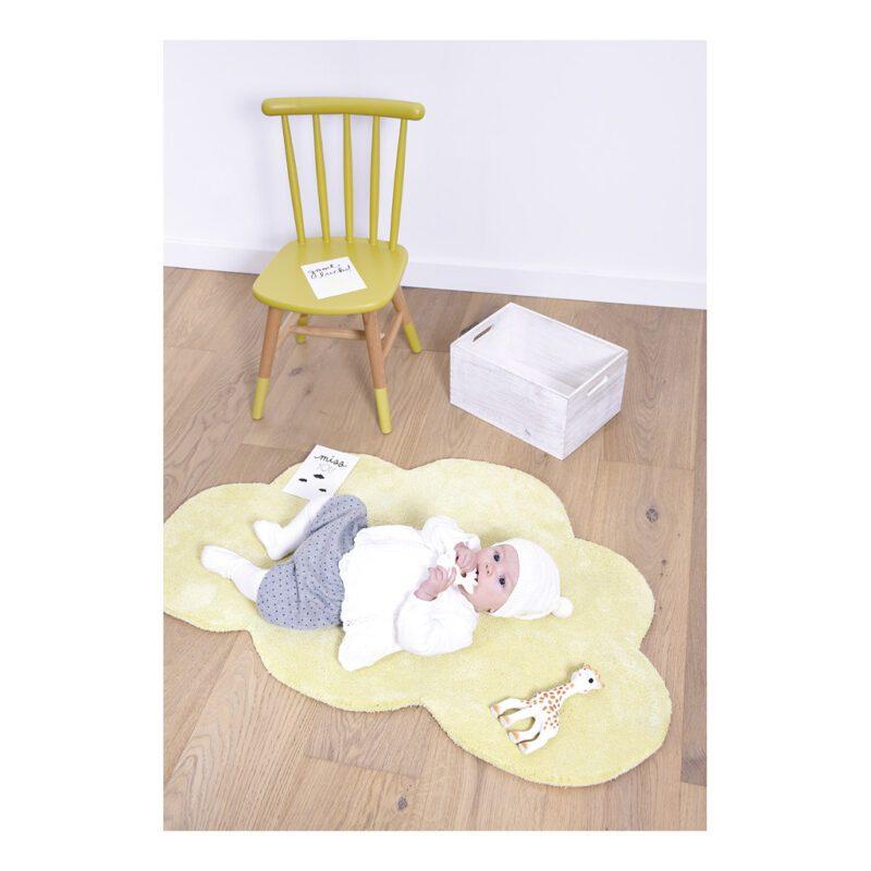 Wolk Tender Yellow Vloerkleed Nuages Babykamer Lilipinso Lili-H0354
