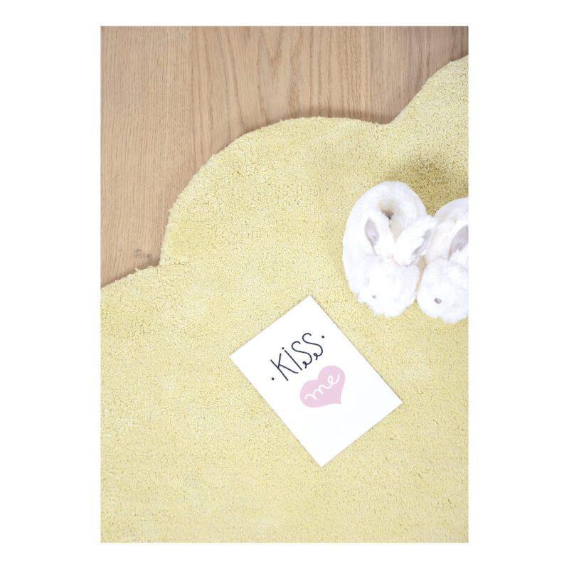 Wolk Tender Yellow Vloerkleed Nuages Geel Lilipinso Lili-H0354