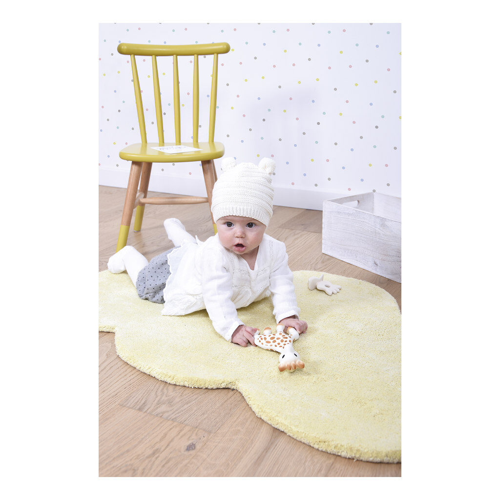 Wolk Tender Yellow Vloerkleed Nuages Spelen Liggen Lilipinso Lili-H0354