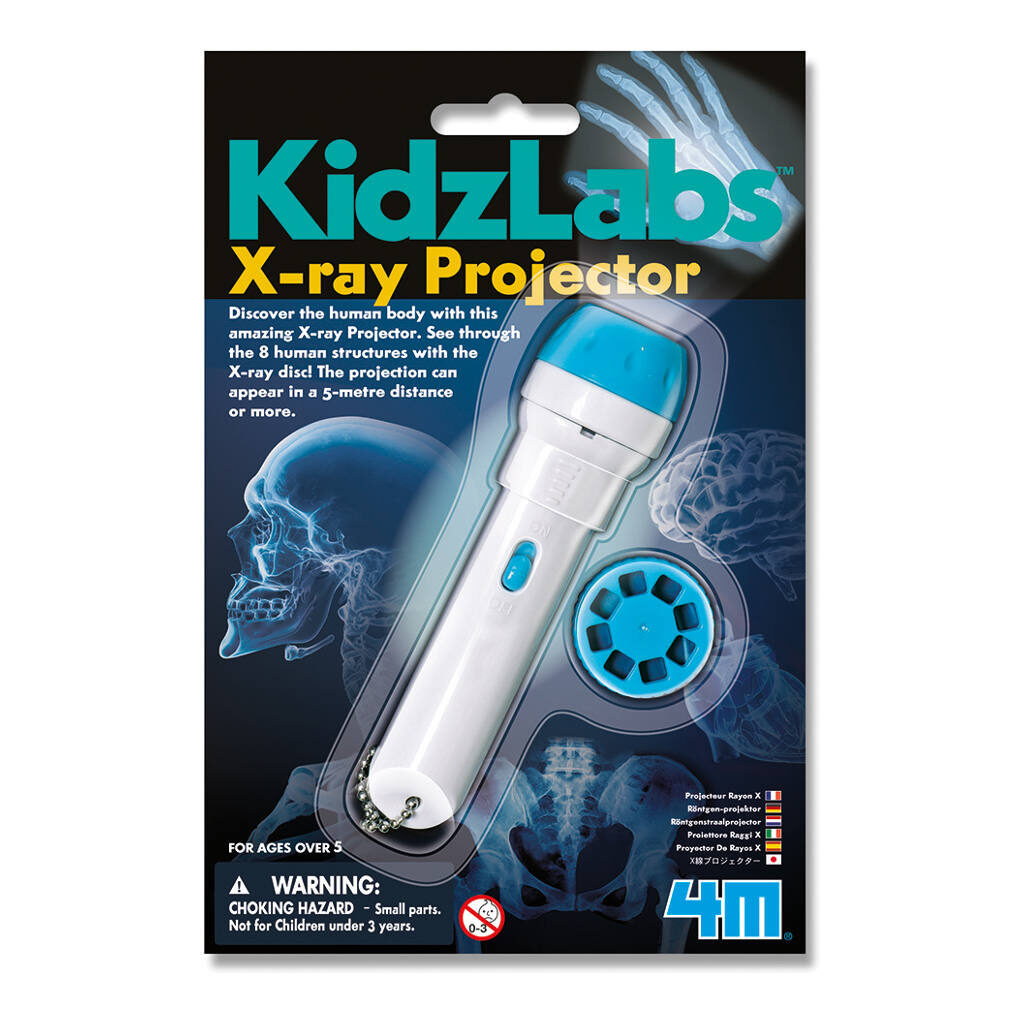 X-Ray Projector Zaklamp Lichaamdelen 4M 4Msp-5603315