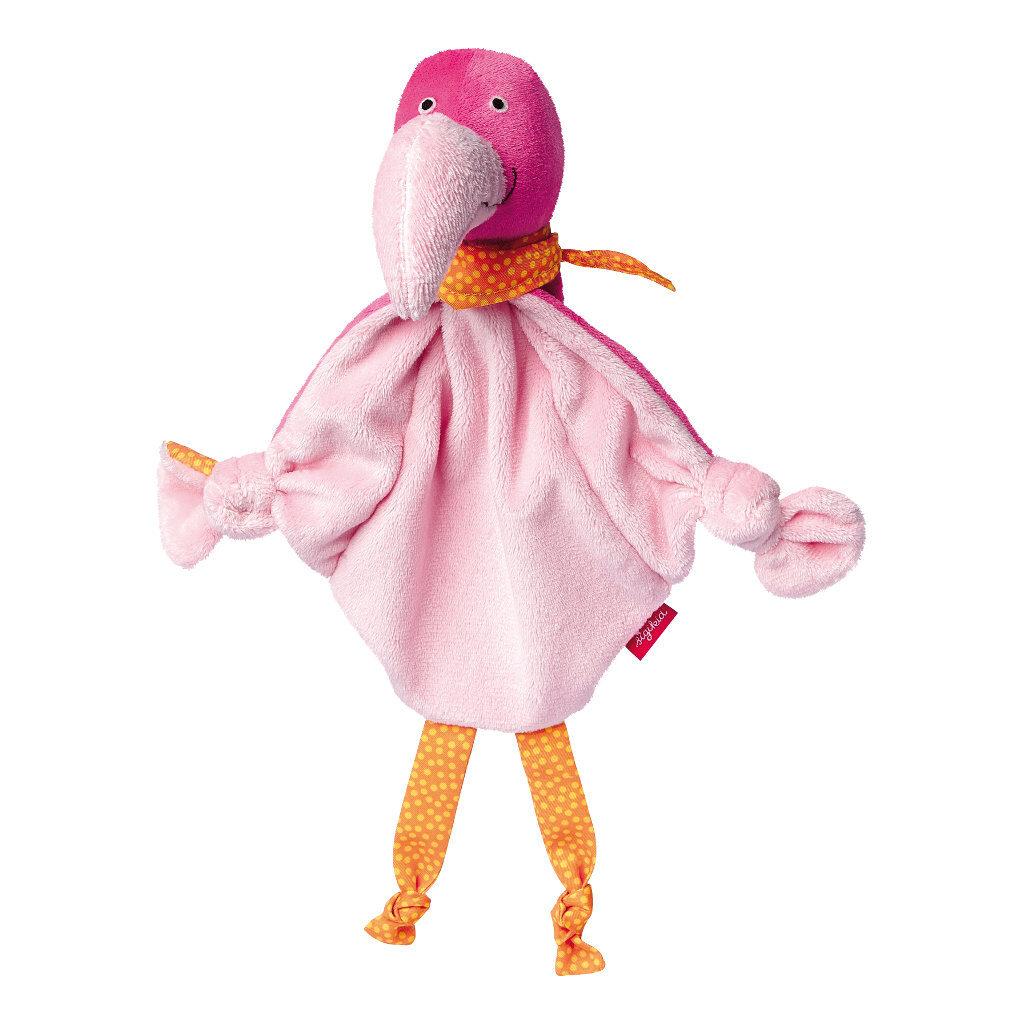 Flamingo Knuffeldoek Knuffel Sigikid sigi-41061