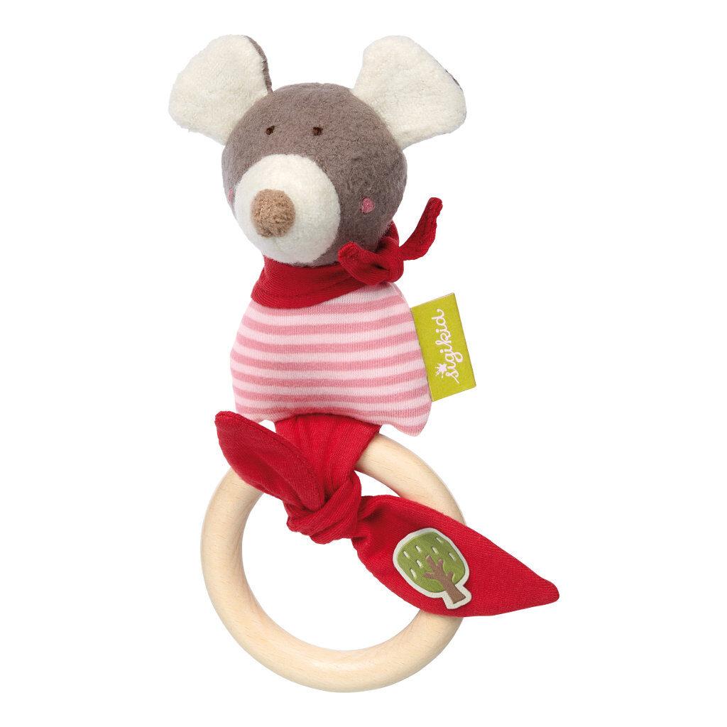Houten Grijp Speelgoed Muis Biologisch Sigikid