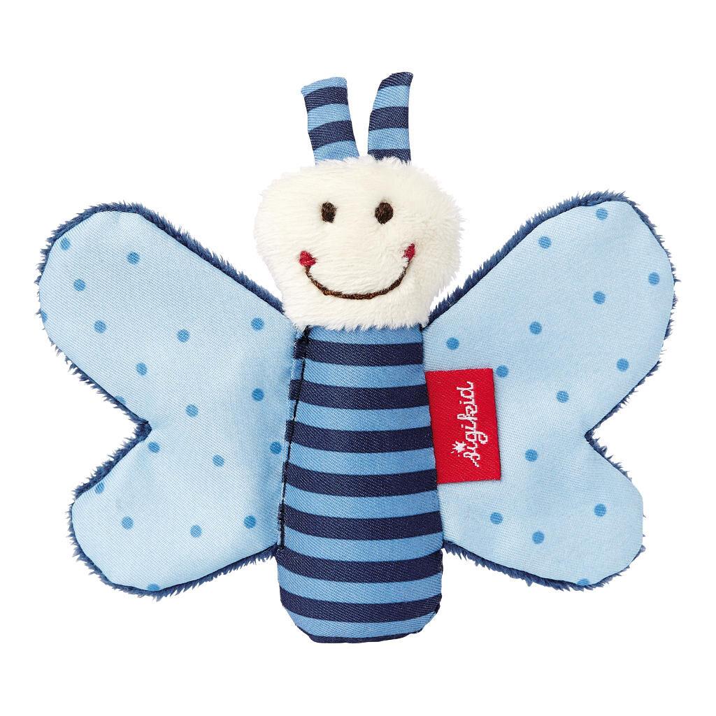 Vlinder Blauw Rammelaar Sigikid