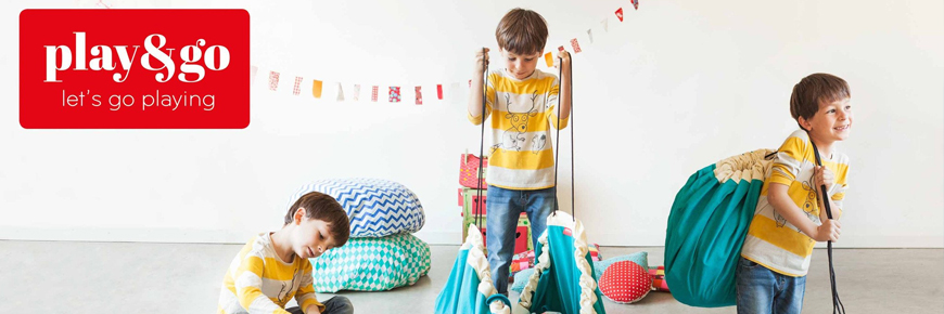 Prachtige collectie Play And Go Speelkleden en Opbergzakken