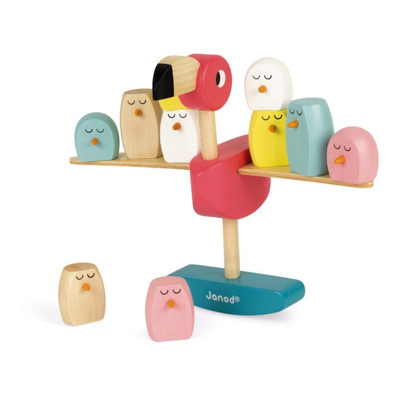 Evenwichtsspel Flamingo   Janod