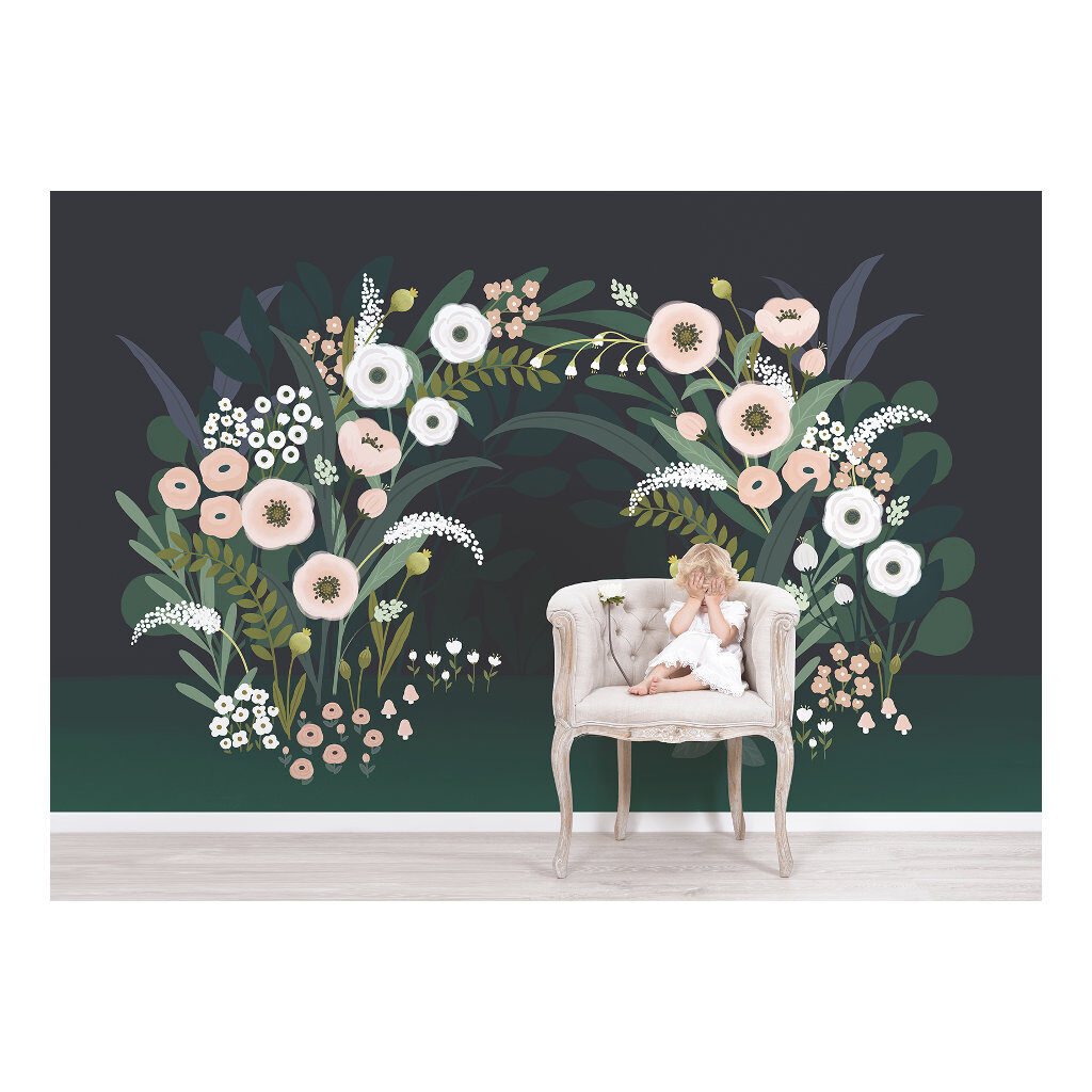 Grote Bloesemboog Behang | Wonderland | Lilipinso
