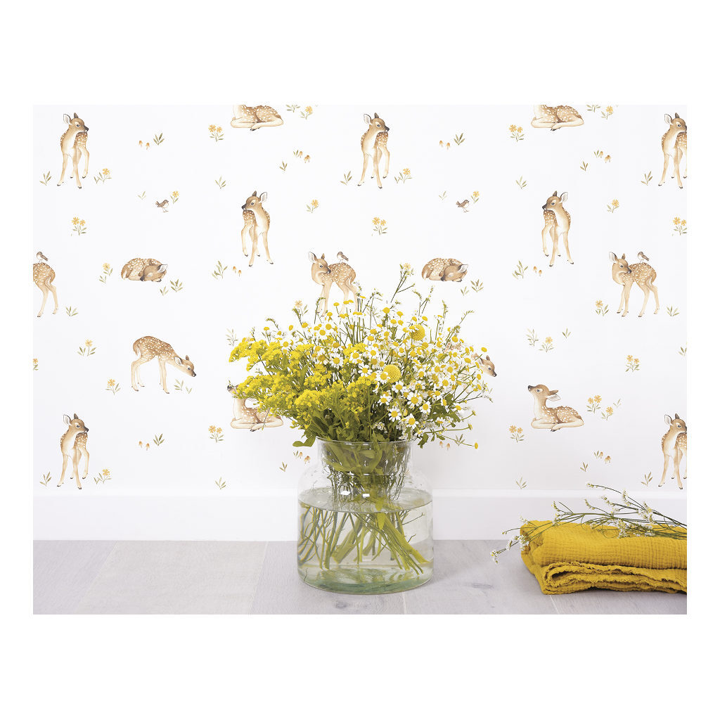 Hertenjong Behang | Oh Deer | Lilipinso