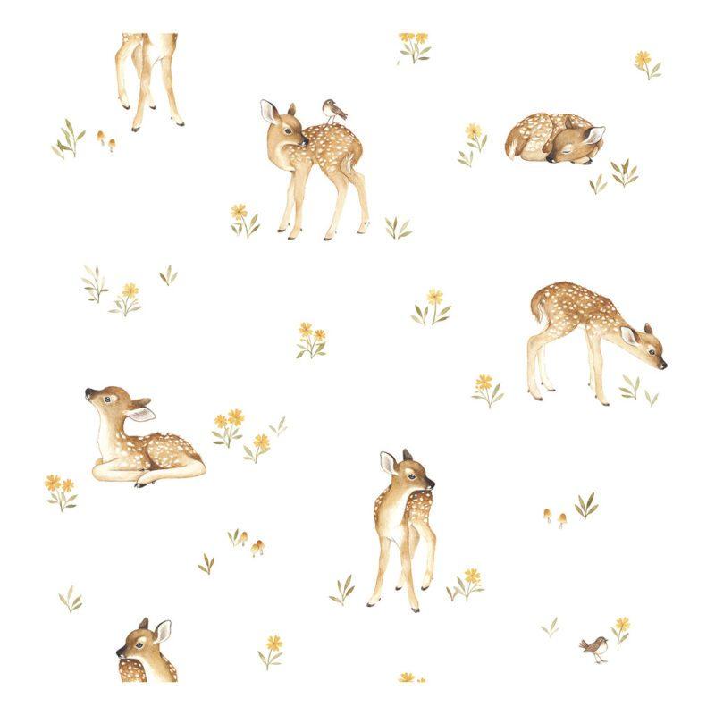Hertenjong Behang | Oh Deer | Lilipinso