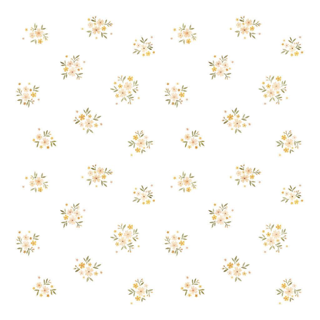 Retro Bloemen Behang | Oh Deer | Lilipinso