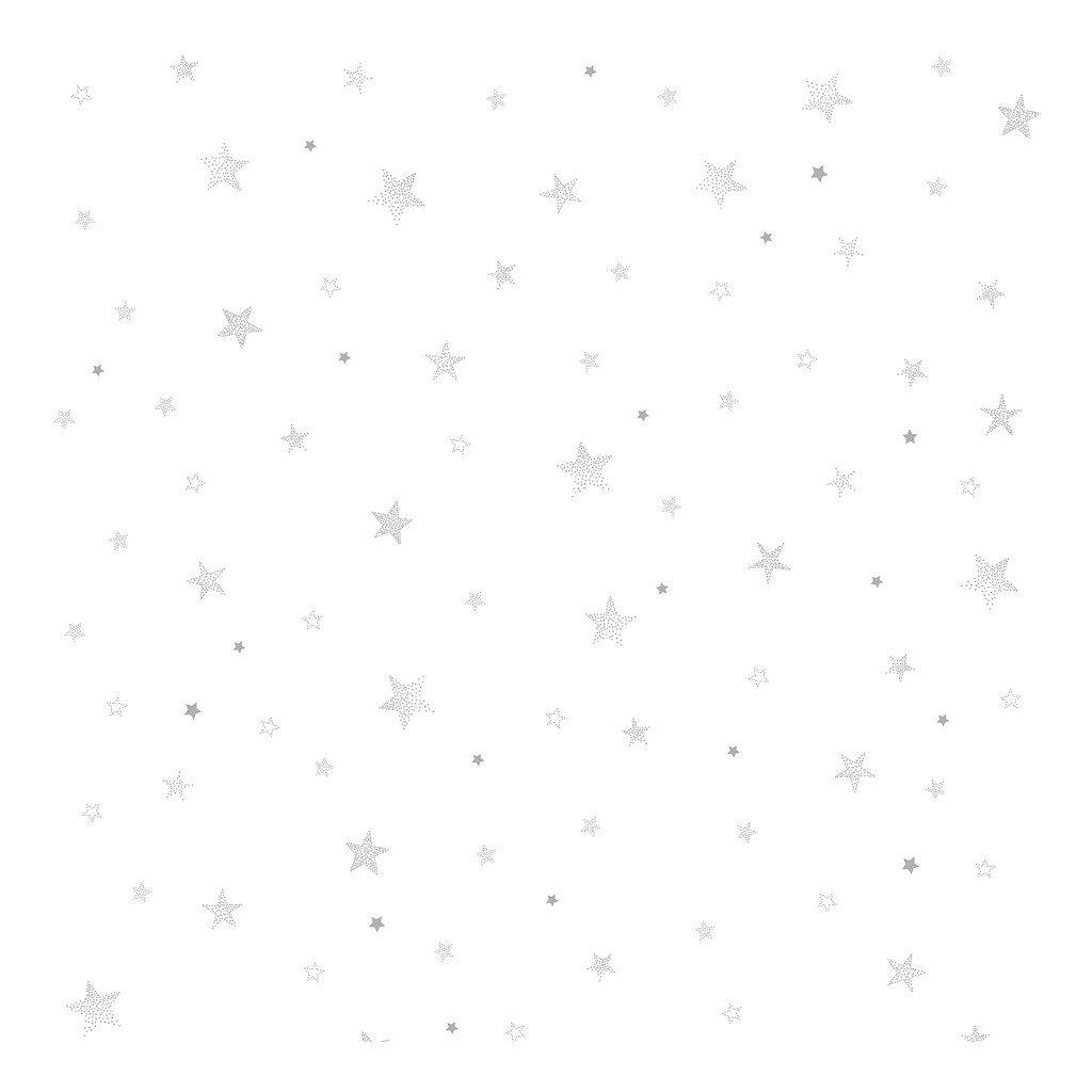Sterren Grijs Behang | Stardust | Lilipinso