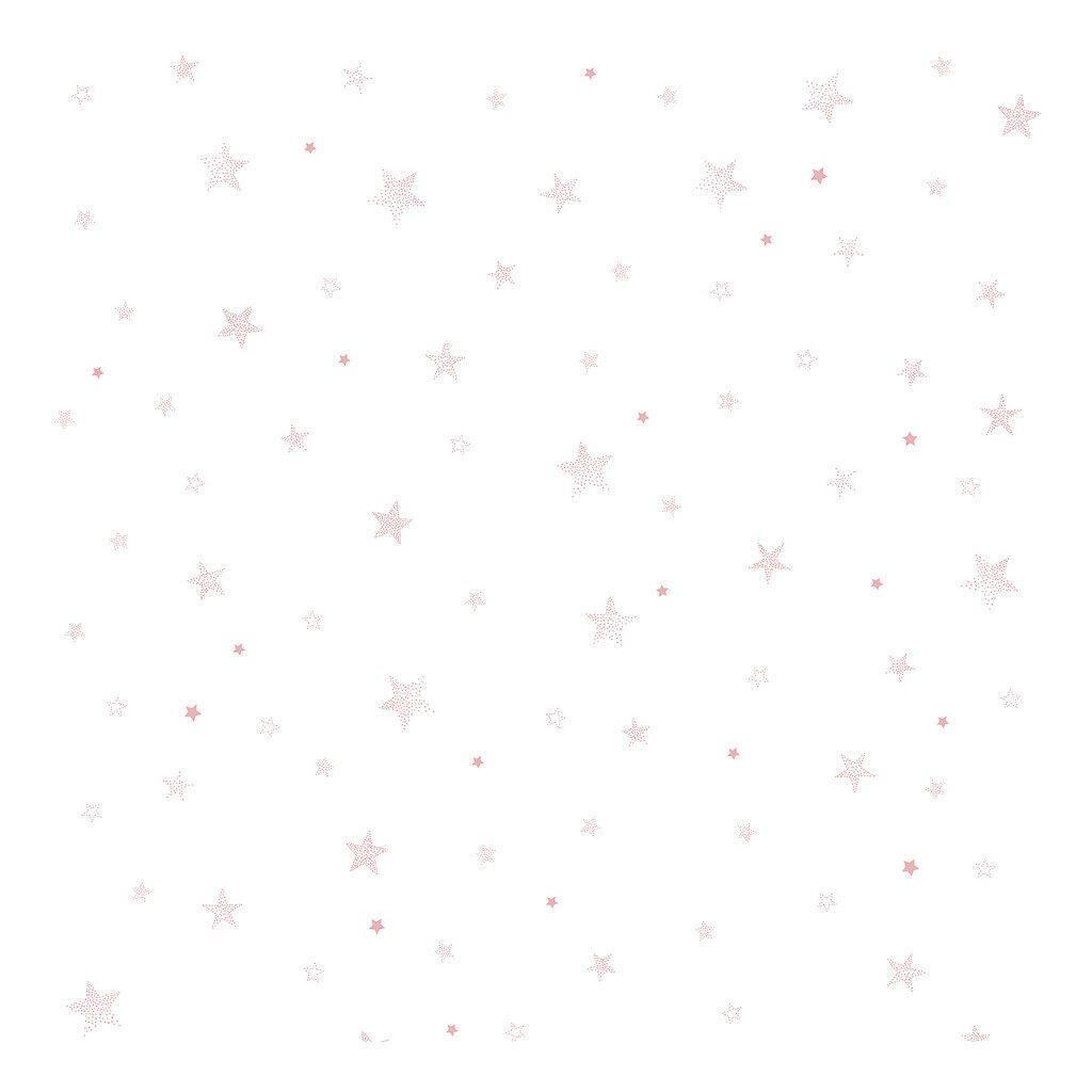 Sterren Roze Behang | Stardust | Lilipinso