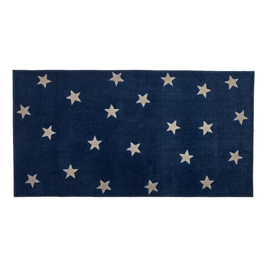 Blue & Stars 3D Effect Vloerkleed life-8450-2