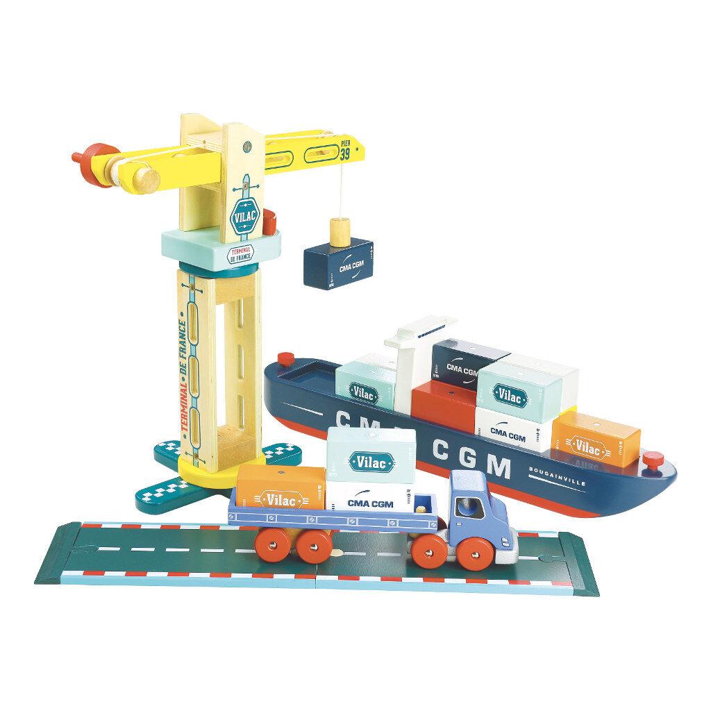 Containerschip Groot Vilacity Vilac Collectie Compleet Vila-2356
