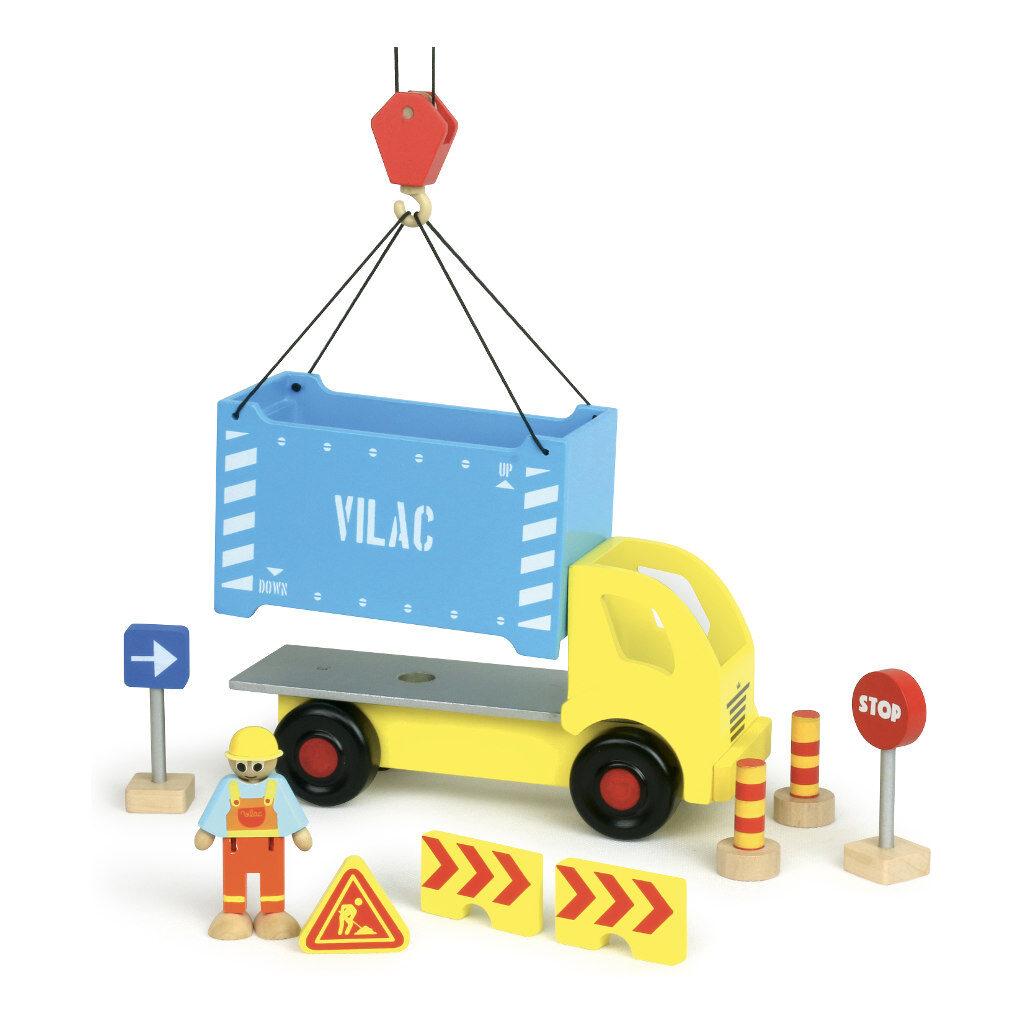 Containervrachtwagen Vilac Takelen Verwijderbaar vila-2347